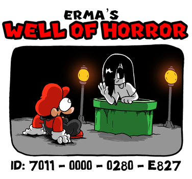 MY MARIO MAKER LEVEL- Erma's Well of Horror by BJSinc