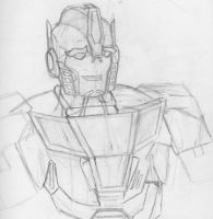 TFP Sketches: Orion Pax by Trans-Crystal