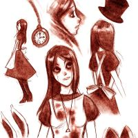Alice Sketches by ukeness
