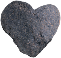 Stone Heart png - unrestricted stock by KingaBritschgi
