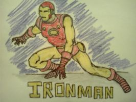 Ironman in color by Redcavalier