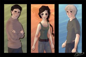 Three - The Hunger Games by Mapvee
