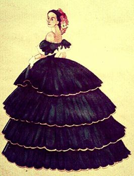 Ball gown by Hadlees
