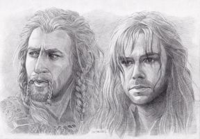 Fili and Kili by Shishkina