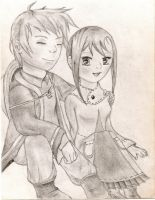 Harvest Moon Toby x Renee by chrisss3