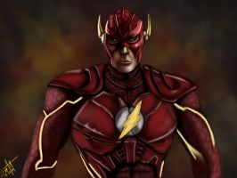 The Flash by SerggArt