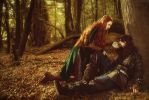 Tauriel and Kili by neko-tin