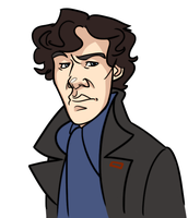 The name's Sherlock Holmes by pai-draws