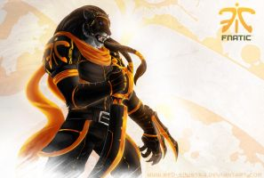 League of Legends: Fnatic Rengar by Red-Sinistra