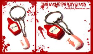 Vampire Keychain by whitefrosty
