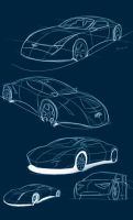Automotive Sketches by Dyer-Consequences