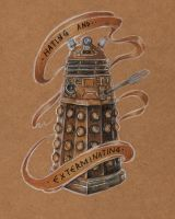 Dalek by eddiebacon
