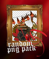 red random PNG pack by blutmondlicht by Blutmondlicht