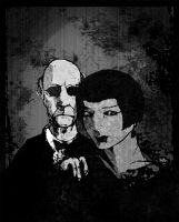 Itras By: Creepy Couple by nyrge