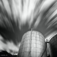 Petroleum Tank by abdieft