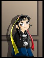 Mapuche girl by Carlos-the-G