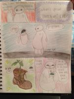 Baymax meets EVE by Boggin