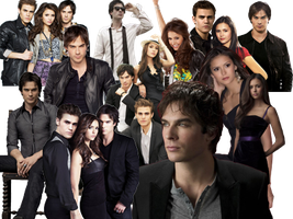 Vampire Diaries PNG Pack 1 by razerblade-10