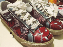 doodled shoes by Y-i-z-e