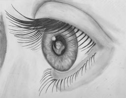 Window into the soul by AniMaArtist