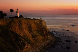 Point Vicente Lighthouse by novelhill