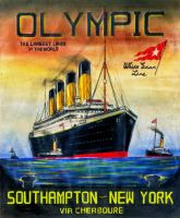 R.M.S. Olympic Poster by Scottvisnjic