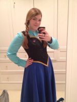 Anna WIP 2 by CaptRogers