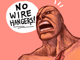 Sagat - NO WIRE HANGERS by angryzenmaster
