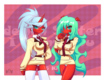 _: Scanty-and-Kneesocks :_ by RE-sublimity-kun