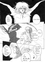 Sample page (1) with English dialogues by Yuko-Rann