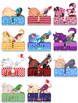 Bed Icons by Kureiya