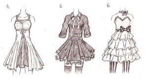 Clothes Designs 2 by xMidnight-Dream13x