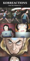Korra Reactions: Aang by Luminosion