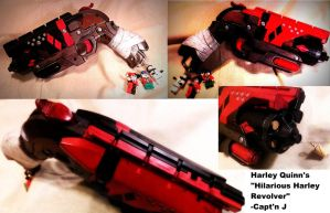 Hilarious Harley's Revolver by WhimsicalCaptnJ