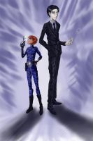 Height Difference -_- by Axxonu