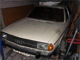 1976 Audi at rest by edgarbeat