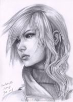 Lightning Final Fantasy XIII by B-AGT