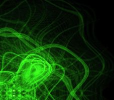 Green Abstract Background by brighterside22