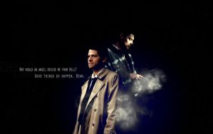 Dean and  Castiel 2 by Lake90