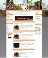 SA-MP FAN SITE webdesign by Ingnition