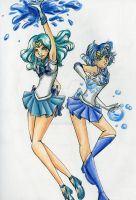 Water Senshi by Tamao