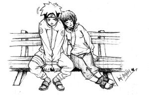 Naruto n Hinata - a couple by shino-kenshi