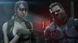 MGS V The Phantom Pain: I'm with stupid by DP-films