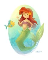 Princess Ariel by CodiBear