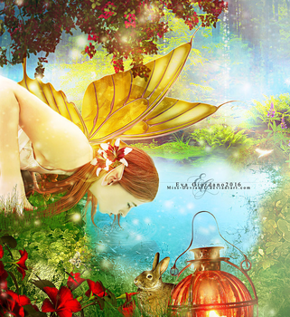 Spring Fairy by Miss-deviantE