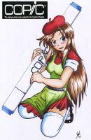 Copic Marker Poster copic colo by Thurosis
