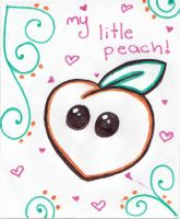 My little peach by chibi-pukumaru-chan