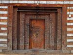 Buddhist Temple Door by AHigherPlaceLtd