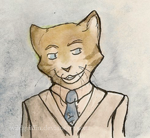 Mr. Meowcroft Holmes by WildGriffin