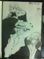 Shanks X luffy by thiphobia